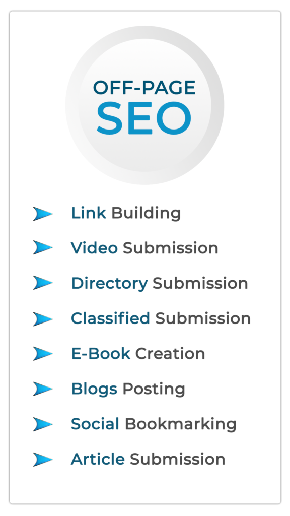 Off page seo infographic