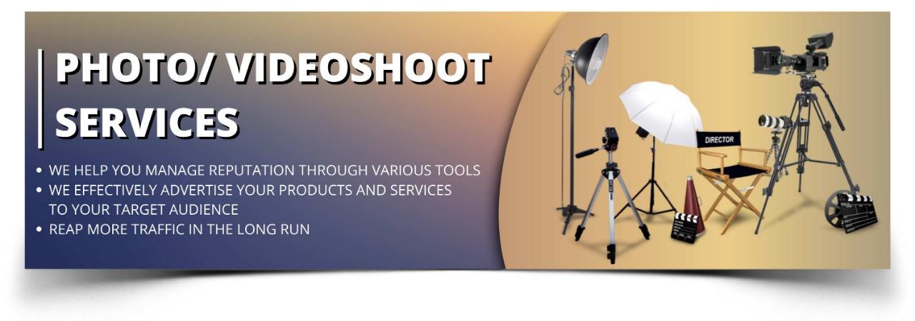 photo/videoshoot services